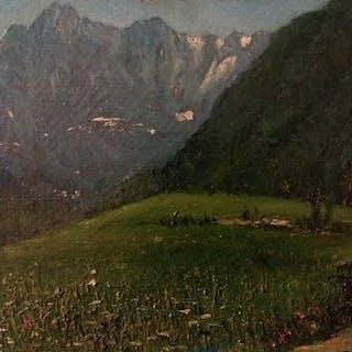 Antonio Rizzi (1869-1940) (Attrib. a) - Senza titolo