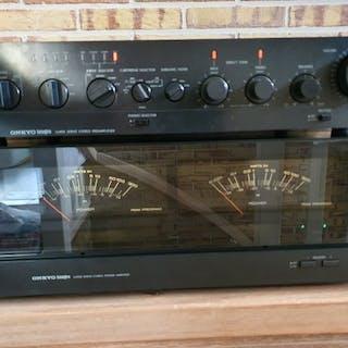 Onkyo - M-5030 and P-3060R - Main amplifier, Pre-amplifier