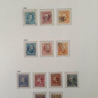 Niederlande 1852/1896 - Collection classic - NVPH 1 t/m 48