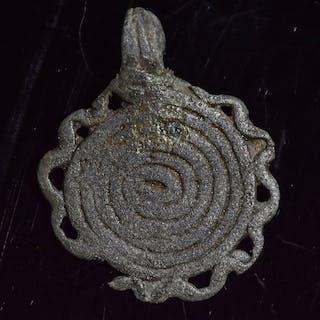 Hallstatt-Kultur aus der Bronzezeit Bronze Anhänger