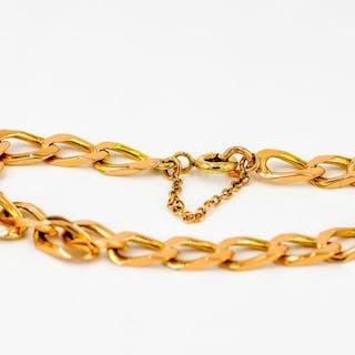 18 kts. Or rose - Bracelet