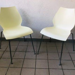 Vico Magistretti - Kartell - Paar Stühle - Maui