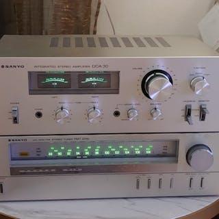 Sanyo - DCA30 + FMT205T - Diverse modellen - Radio, Stereoverstärker