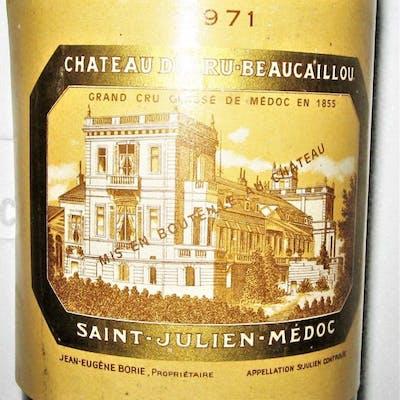 1971 Château Ducru Beaucaillou - Saint-Julien 2éme Grand...
