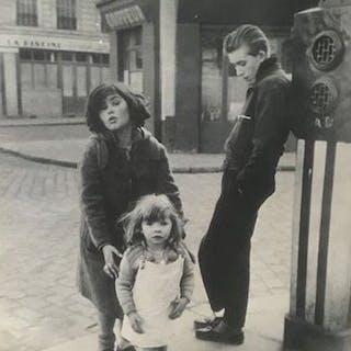 Robert Doisneau (1912-1994) - 'Les Enfants de la Place Hebert', 1957