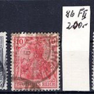 Deutsches Reich - Germania - Michel ex 64 II - 80 Ba