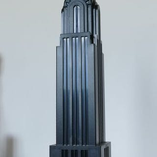 Kodak - Mod. Dep INTERCOMEX - Lampe, Modell des Chrysler-Wolkenkratzers