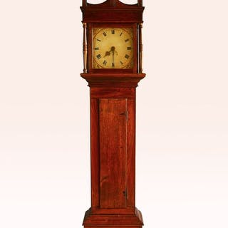 Grandfather clock - Wood, Oak - Early 19th century