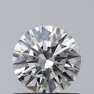 1 pcs Diamond - 0.50 ct - Brilliant - D (colourless) - IF (flawless)