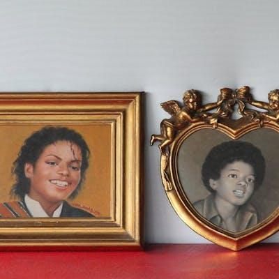Michael Jackson - Kunstwerk/ Gemälde - 2014/2014