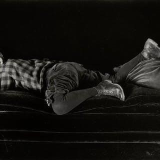 Edward Weston (1886-1958) - Neil Sleeping, 1925