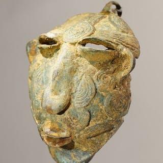 Skulptur - Bronze - Bamana - Mali