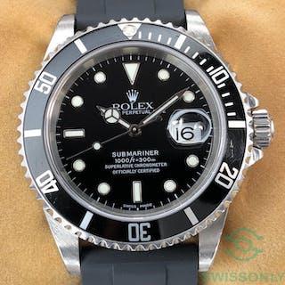 Rolex - Submariner Date - 16610 - Unisex - 2000-2010