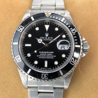 Rolex - Submariner Date - 16610 - Unisex - 1990-1999