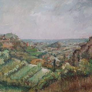 Teodoro Wolf Ferrari - Paesaggio