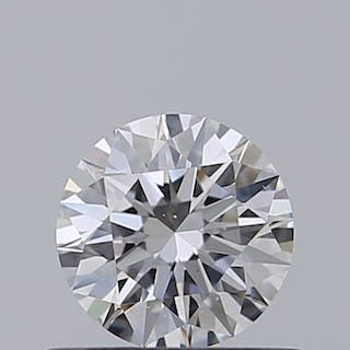 1 pcs Diamond - 0.33 ct - Brilliant - D (colourless) - VS1