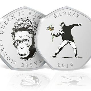 Banksy x The Coin Supplier - Collectable Coin
