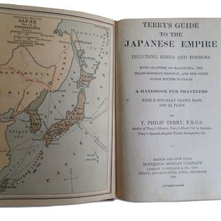 T.Ph. Terry - Terry's Guide to the Japanese Empire - 1920