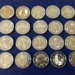 Europa - 2 Euro 2006/2019, 20 monete di commemorative