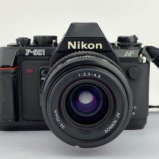 Nikon F-501 ,AF NIKKOR 3.3-4.5 35-70mm LENS
