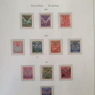 Niederlande 1925/1971 - Collection in Leuchtturm album between NVPH 166 and 1001