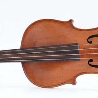 Labeled DALL'AGLIO - 4/4 - Violino - Italia - 1829