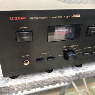 Luxman - High End HybridA-384 Stereo - Integrated amplifier