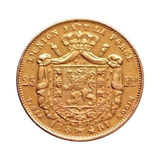 Belgium - 25 Franc 1848 Leopold I - Gold