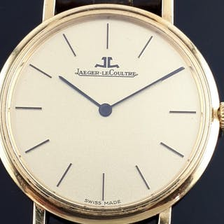 Jaeger-LeCoultre - Vintage Ultra Thin 18K Yellow Gold...