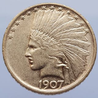 United States - 10 Dollar 1907 Indian Head - Gold