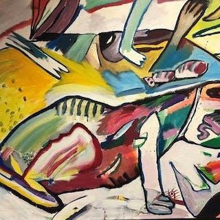 Bruni Regenbogen - Vertreibung der Echse
