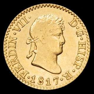Spain - 1/2 Escudo - Fernando VII (1808-1833)