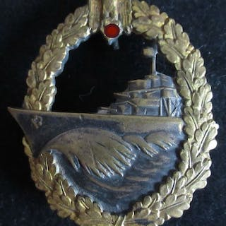 Germany - Destroyer War Badge - Award