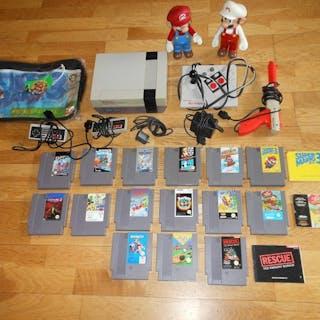 Nintendo Nes - Konsole mit Spielen (15) - Ohne Originalverpackung