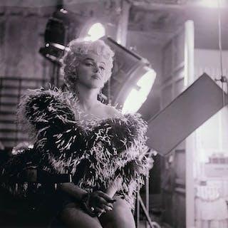 """Sam Shaw (1912-1999) - Marilyn Monroe, """"Gold Star I"""""""
