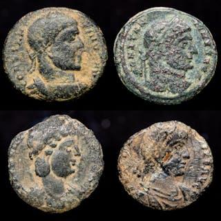Römisches Reich - Lot comprising 4 AE coins: - Constantine I