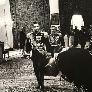 Inge Morath (1923-2002) / Magnum Photos - Shah Mohammed Reza Oahlevi, 1966
