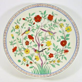 Herend - Piatto da zuppa Oino cinese orientale Chinois da giardino - 26 cm