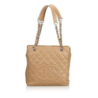 Chanel - Caviar Petite Shopping Tote Tote bag