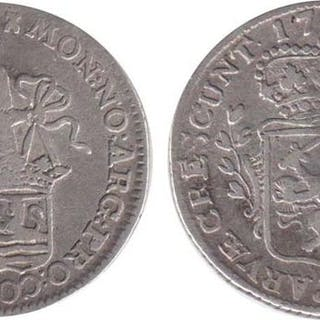 Paesi Bassi - Zelanda - ⅛ Zilveren Dukaat of Pietje 1788 uit 1786 - Argento