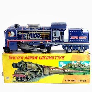 TM trade mark modern toys - Lokomotive Silver arrow...