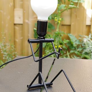 Hank Kwint - Adonis - Black metal desk lamp