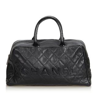 Chanel - Matelasse Caviar Leather Handbag