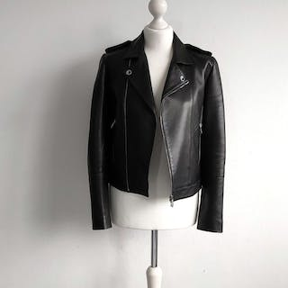 Versace Collection - Biker jacket, Jacket, Leather jacket - Size: IT 38