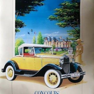 Automobile poster - La Baule Concours d'élégance en...