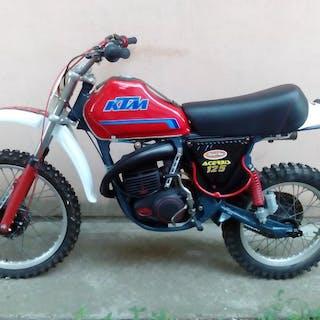 KTM - MX - 125 cc - 1976