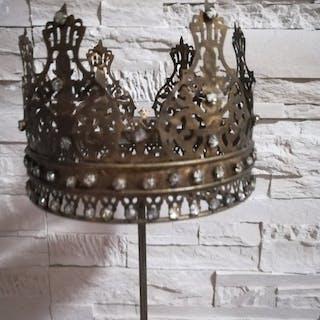 votive crown (1) - Brass - Late 19th century