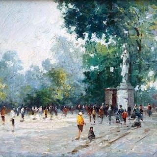 Mikhail Kraiev - Paris, Jardin des Tuileries