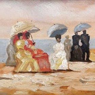 Igor Chevtsov - Repos sur la plage Normande