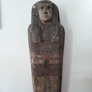 Altägyptisch Holz Rare Sarcophagus Cover - for the Lady...